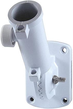 """1"""" white aluminum adjustable bracket"""