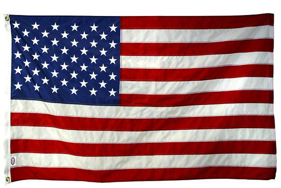 3'x5' U.S. heavy duty polyester flag