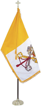 Indoor Papal Flag Sets