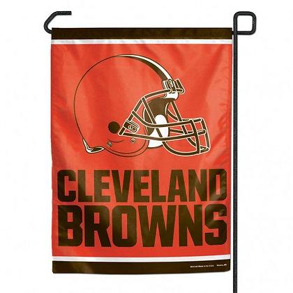 Cleveland Browns garden/window flag
