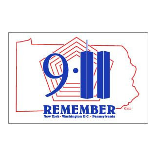 3'X5' 911 Remember