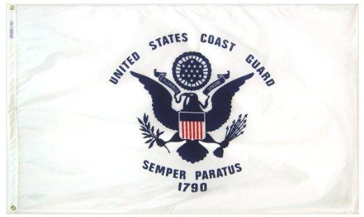 4'x6' U.S. Coast Guard nylon flag