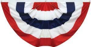U.S. Nylon Pleasted Fan 3'x6'