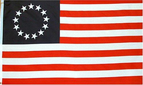 3'x5' Betsy Ross nylon flag