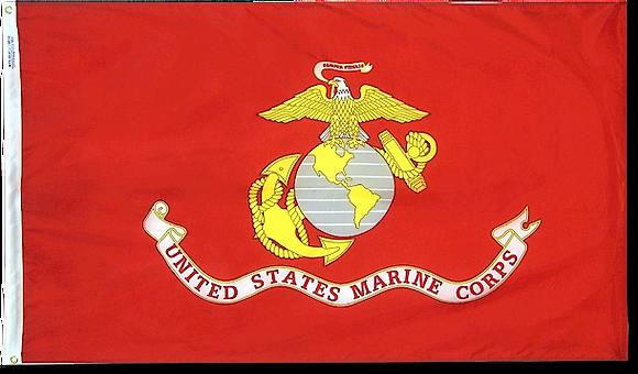 2'x3' U.S. Marine Corps nylon flag