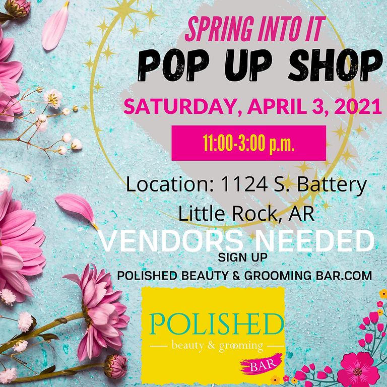 SPRING INTO IT POP UP SHOP