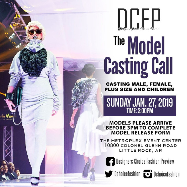 DCFP Model Casting Call