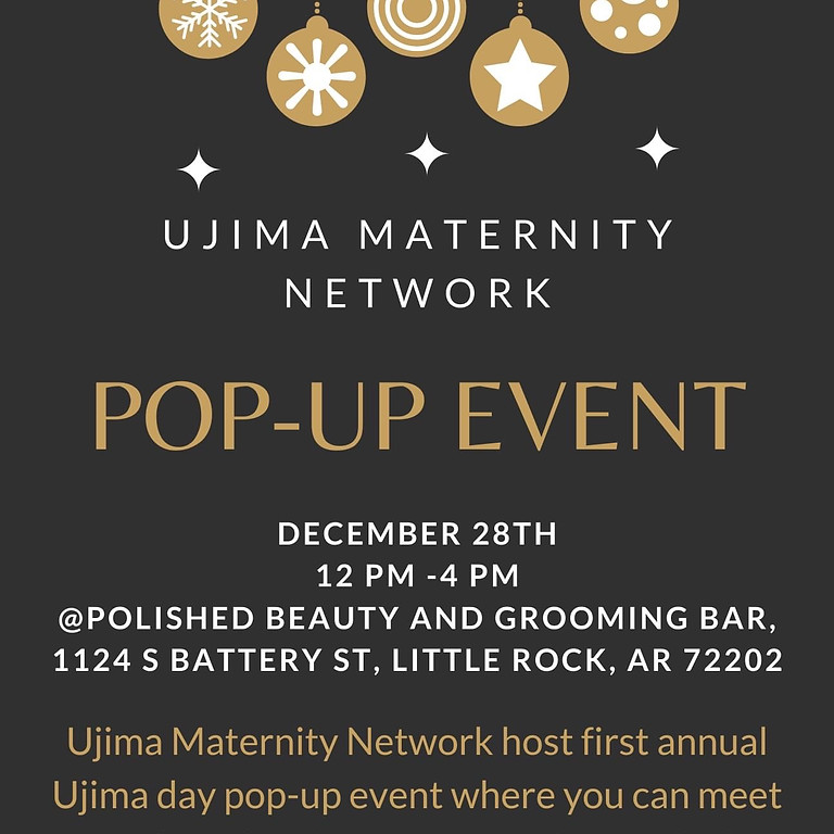 UJIMA MATERNITY NETWORK~ POP UP EVENT