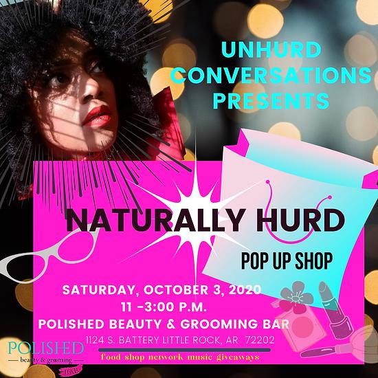unhurd conversations presents naturally