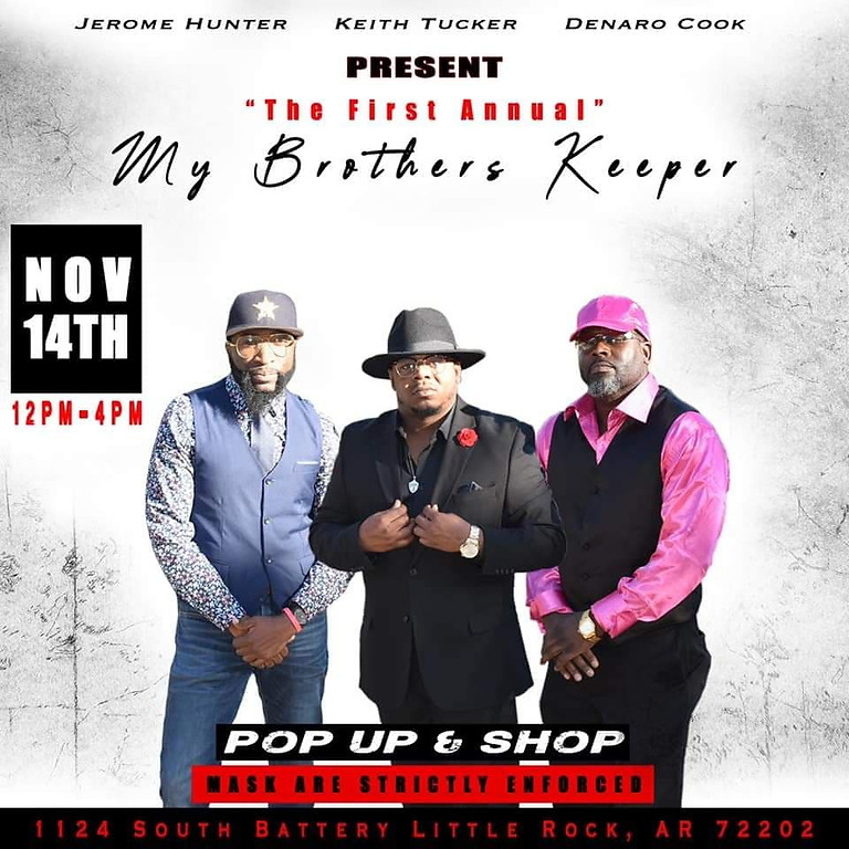 My Brother's Keeper Pop Up & Shop