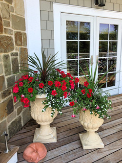 Planter Pots on Deck