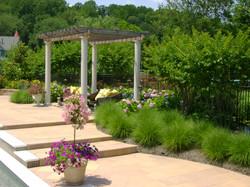 Pergola Steps Pavers Plants