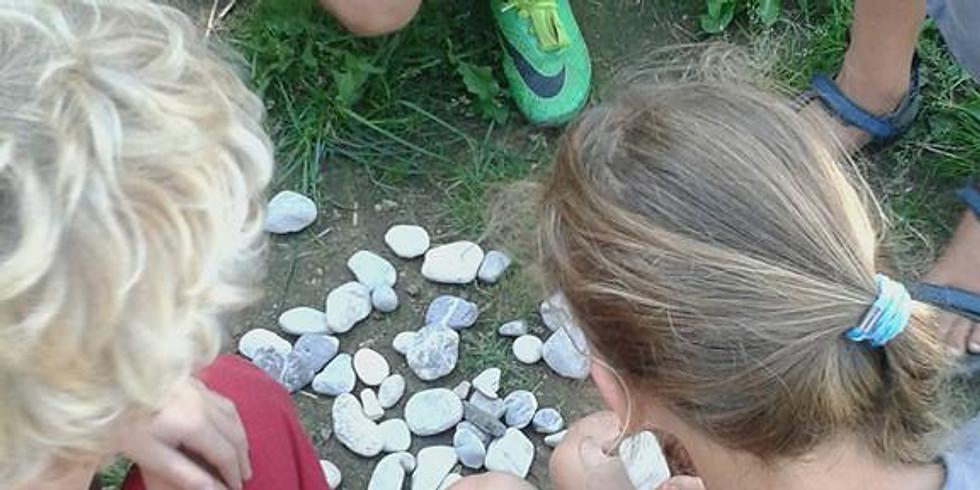 Stenen stempelen, ik ben een KEI