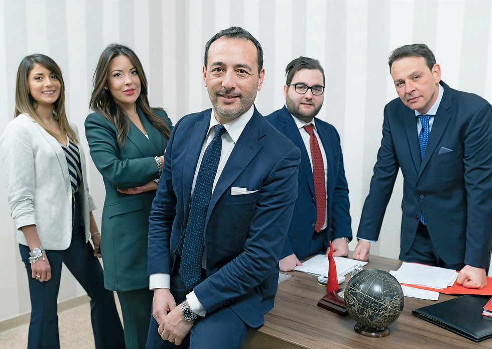 Team studio Pennisi & Partners e Giulio Pennisi
