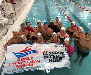 OPAF Receives Training and Grant from US Masters Swim