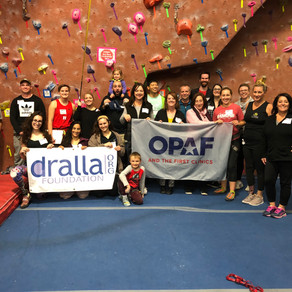 Dralla Foundation Sponsors First Climb in New Jersey