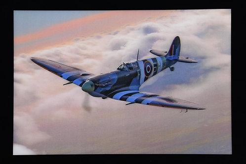 Lenticular Spitfire Blue Sky