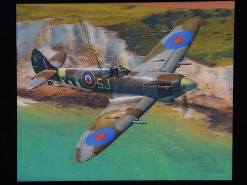 Lenticular Spitfire & White Cliffs