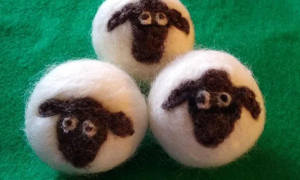 Dryer Balls, All Wool Dryer Balls, No More Toxic Dryer Sheets