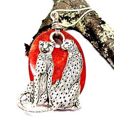 Bold Statement Cheetah Pendant