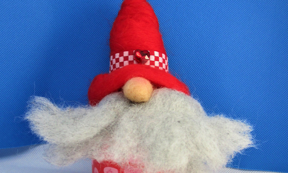 copy of Hand Needle Felted Valentine Gnomes