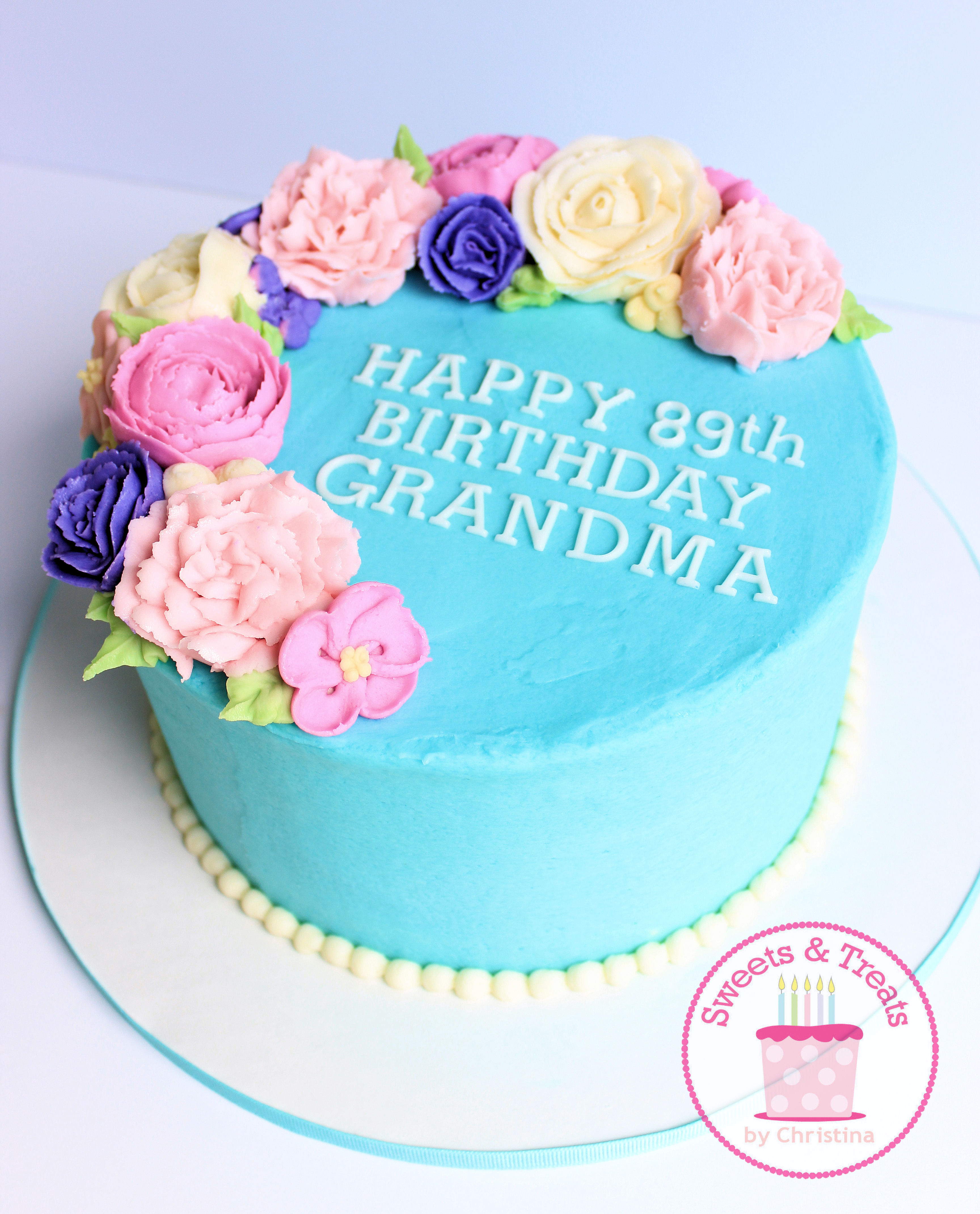 Grandmas 89th Birthday And A Wax Paper Transfer Tutorial Custom