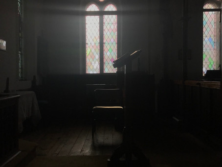 Contrasts of Light and Shadow for Morning Prayer