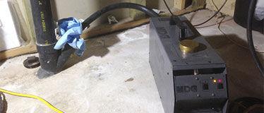Smoke test Montreal 514-915-3601 | Plumbing smoke test pipe | Rat smoke test Montreal