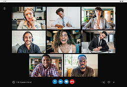business-people-on-a-work-video-call-while-working-remotely-from-home-new-normal-lifestyle