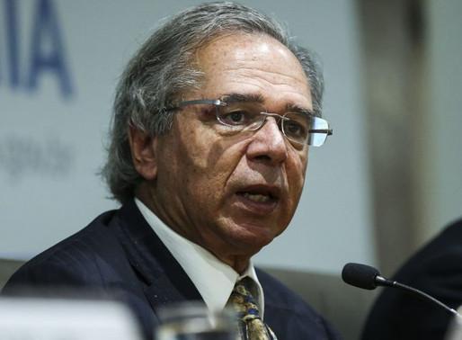 """Paulo Guedes defende """"passaporte da imunidade""""."""