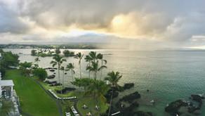 Spektakulär abgehoben auf Big Island