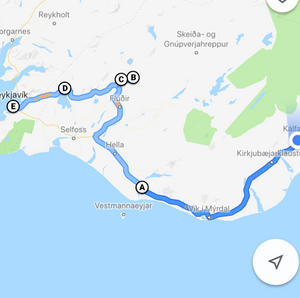 Googlemaps-Route©Ipftrotter
