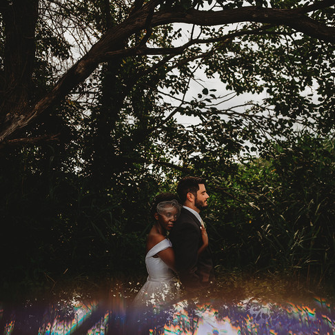Maryland Intimate Backyard Wedding | Matt & Furaha