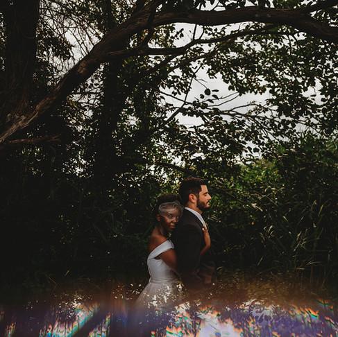 Maryland Intimate Backyard Wedding   Matt & Furaha