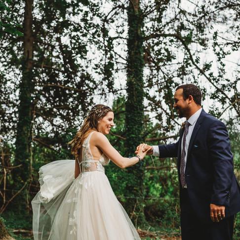 Katie & Rafael   Intimate Spring Wedding