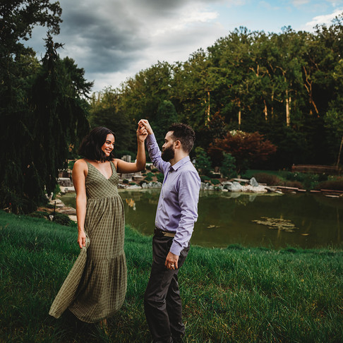 Brookeside Gardens Engagement | Alex & Alex