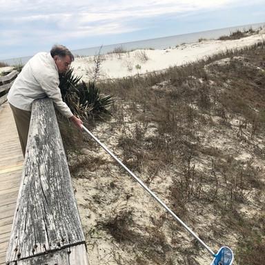 Beach Access Cleanup