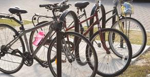 Bike Racks Make Sunset Beach a Bicycle-Friendlier Community!