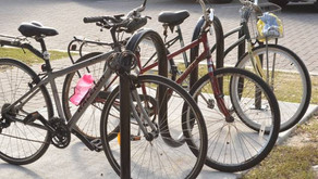 Bike Racks Make Sunset Beach a Bicycle-Friendlier Community!