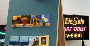 Tiny Art Exhibit back for 2020 Art Show & Sale