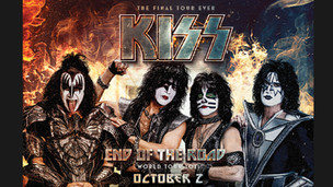 KISS END OF THE ROAD TOUR - OCTOBER 2, 2021