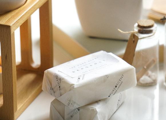 6 Cubed Bergamot Soy Wax Melts, 85g