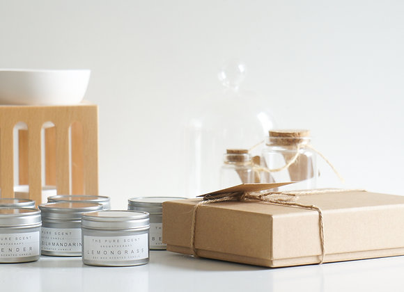 Mini Soy Candles Gift Box