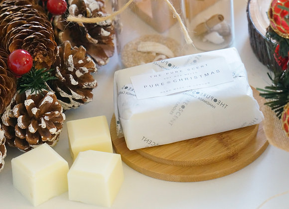 6 Cubed Pure Christmas Soy Wax Melts, 85g