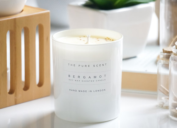 Bergamot Soy Candle in a Glass