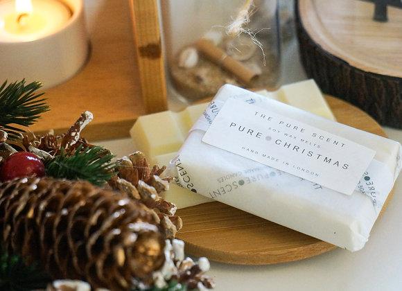 Pure Christmas Soy Wax Melts, 25g snap bar