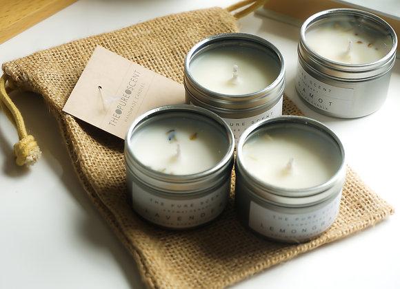 Mini Soy Candles Gift Set