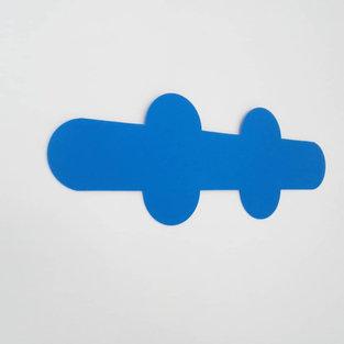 Sans titre (cicatrice bleue) Olivier ROCHEAU