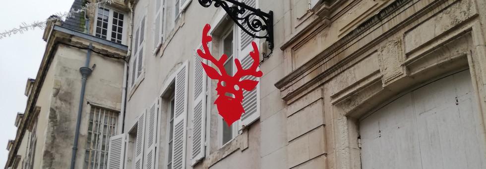 HOHOHO! - Mobile & installation - Le Printemps Fleuriau - Olivier ROCHEAU
