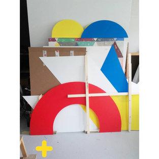 des formes simples dans l'atelier d'oliv